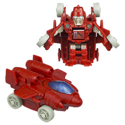 TRANSFORMERS Bot Shots PowerGlide