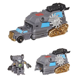 TRANSFORMERS Lanceur Bot Shots Iron Hide