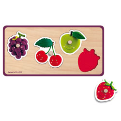 Puzzle Quadrifruits Fleurus