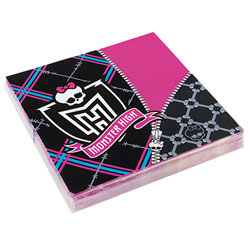 20 Serviettes Monster High