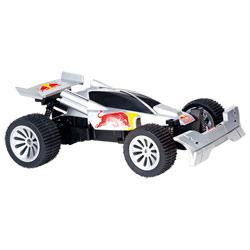 Buggy Argent 1/16ème Red Bull radiocommandé