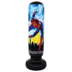 Punching ball gonflable et sonore SPIDERMAN 4