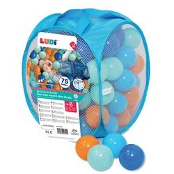 Sac 75 balles bleues
