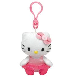 Porte-Clés Ballerina Hello-Kitty