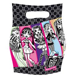 6 Sachets Cadeaux Monster High