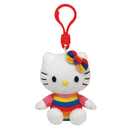 Porte-Clés Rainbow Hello Kitty