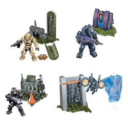 Halo Pack Figurine et Armes