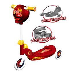 Trottinette 3 roues pliable CARS