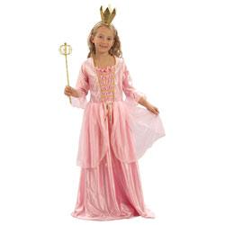 Costume de Princesse Rose 3/4 ans