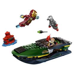 76006 - Iron Man : La Bataille du port Extremis