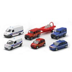 Coffret véhicules de secours