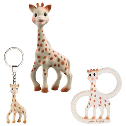 Trio So'Pure Sophie la Girafe