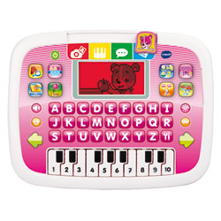 Tablette P'tit Genius Ourson Rose