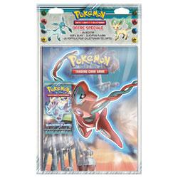 Pokémon Pack Cahier Portfolio et booster Noir et Blanc 9