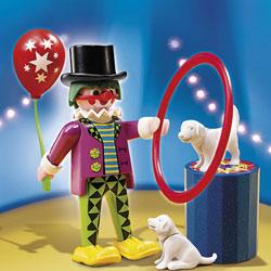 4760-Clown dresseur de chiens