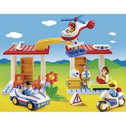 5046 - Coffret Hôpital avec secouristes et policiers