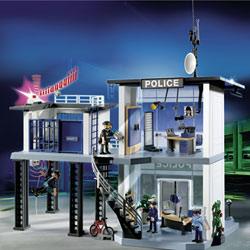 5182-Commissariat de police avec système d'alarme