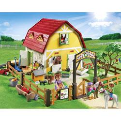 5222-Ranch avec poneys