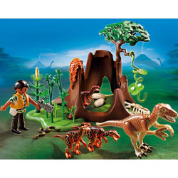 5233-Deinonychus et Vélociraptors