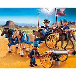 5249-Soldats américains avec canon