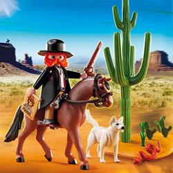 5251-Shérif à cheval avec chien