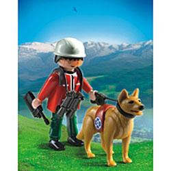 5431 - Sauveteur de Montagne avec chien