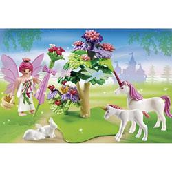5995-Valisette fée et licornes