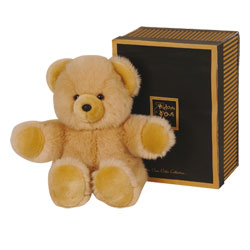 Peluche Ours Miel Collection Prestige 40 cm