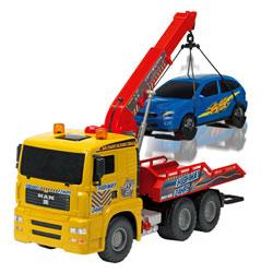 Dépanneuse et véhicule