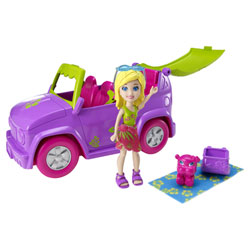 Polly Pocket Voiture toboggan