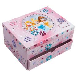 Boite à Bijoux Mosaïques Disney Princesses