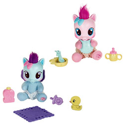 Peluche Bébé Poney Assortiment