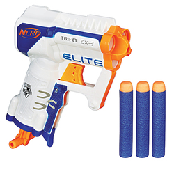 Pistolet Nerf Elite Triad