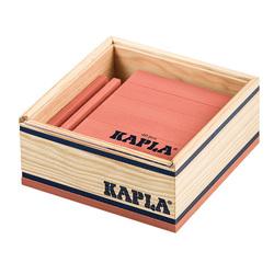 Kapla-40 planchettes roses