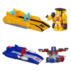 Transformers Bot Shots Beast Brawlers Lanceur + figurine Assortiment