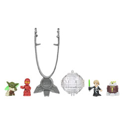 Star Wars Fighter Pods Pack 4 figurines + Lanceur