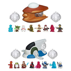 Star Wars Fighter Pods Pack  8 figurines + Turbo lanceur