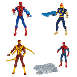 Spiderman Figurine de Combat  15 cm Assortiment
