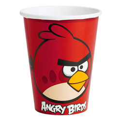 8 Gobelets Angry Birds