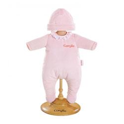 Pyjama Rose pour Poupon 36 cm