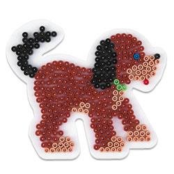 Plaque pour perles à repasser midi chien