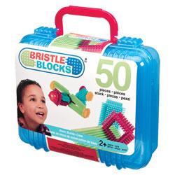 Bristle Blocks Valise 50 pièces