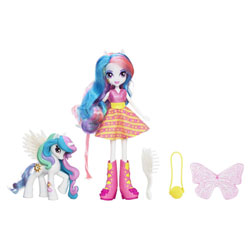 My Little Pony Poupée  Equestria Girls et son Poney