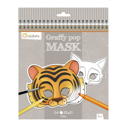 Graffy Pop Mask Animaux
