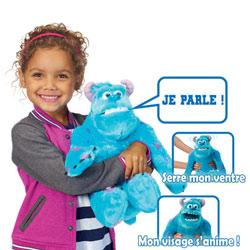 Monstre & Cie Peluche interactive Sulli 30 cm