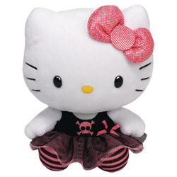 Peluche Hello Kitty Punk