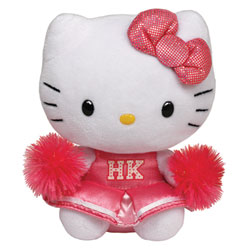 Peluche Hello Kitty Pom-Pom Girl
