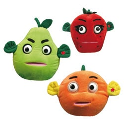 Crazy Fruit Peluche parlante interactive