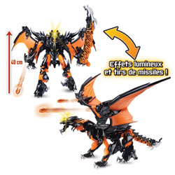 Transformers Ultimate Dragon électronique