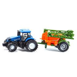 Tracteur New Holand avec épandeur